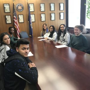 Lavelle Prep students attending Advocacy Day