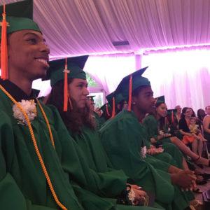 Lavelle Prep seniors at graduation